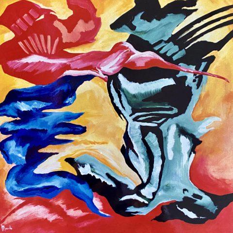 4 elementen (1989) art by manuela tjarkina vermeeren