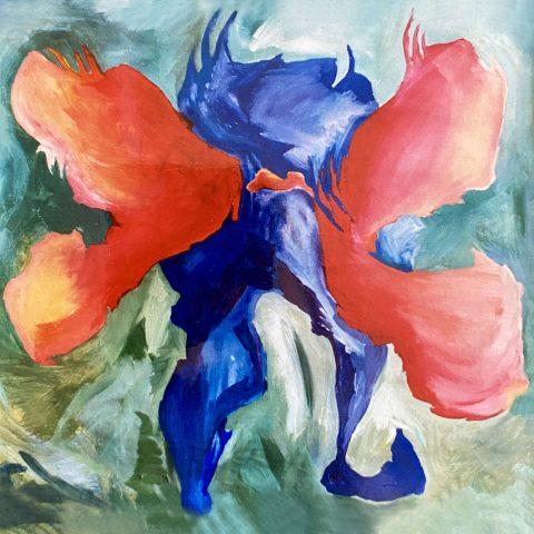 de vuurdragende prometheus (1989) art by manuela tjarkina vermeeren